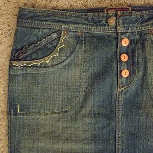(NWT)Funkke denim skirt sz. 5